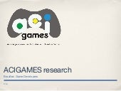 Acigames developers research english