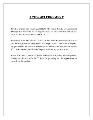 Acknowledgement in research paper
