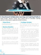 A Cloud-based Collaborative Learning and Coaching Platform