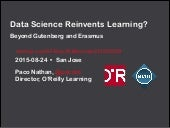 Data Science Reinvents Learning?