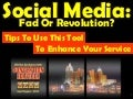 Social Media: Fad Or Revoloutions Tips For Convention Service Managers