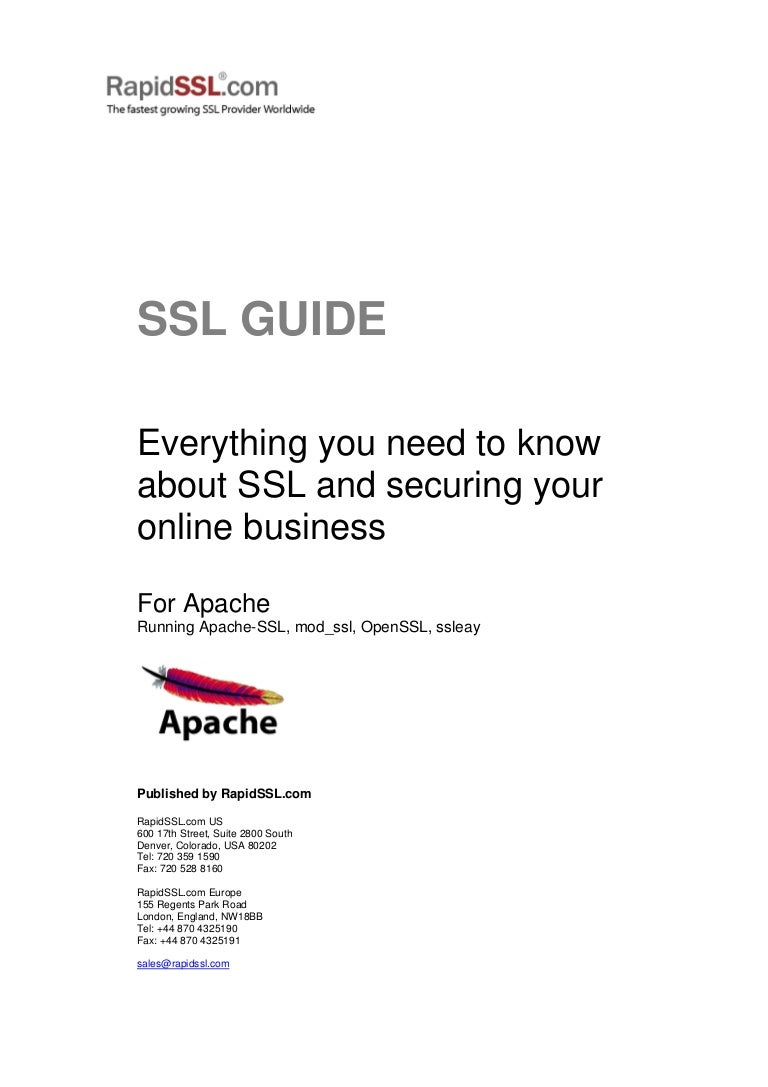 A complete rapidssl guide on securing online business with ssl certif 1betcityfo Choice Image