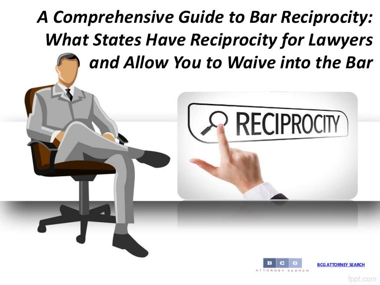 california bar reciprocity with other states