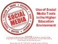 ACPA 2012 Social Media Institute: Using Tools in Higher Education