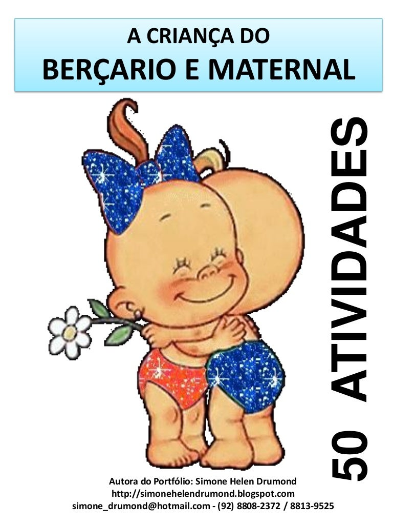 A crian a do ber ario e maternal 50 atividades for Actividades pedagogicas para ninos de 2 a 3 anos