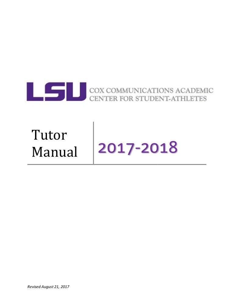 2017 2018 Manual