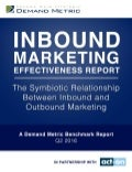 Inbound Marketing Effectiveness Benchmark Report