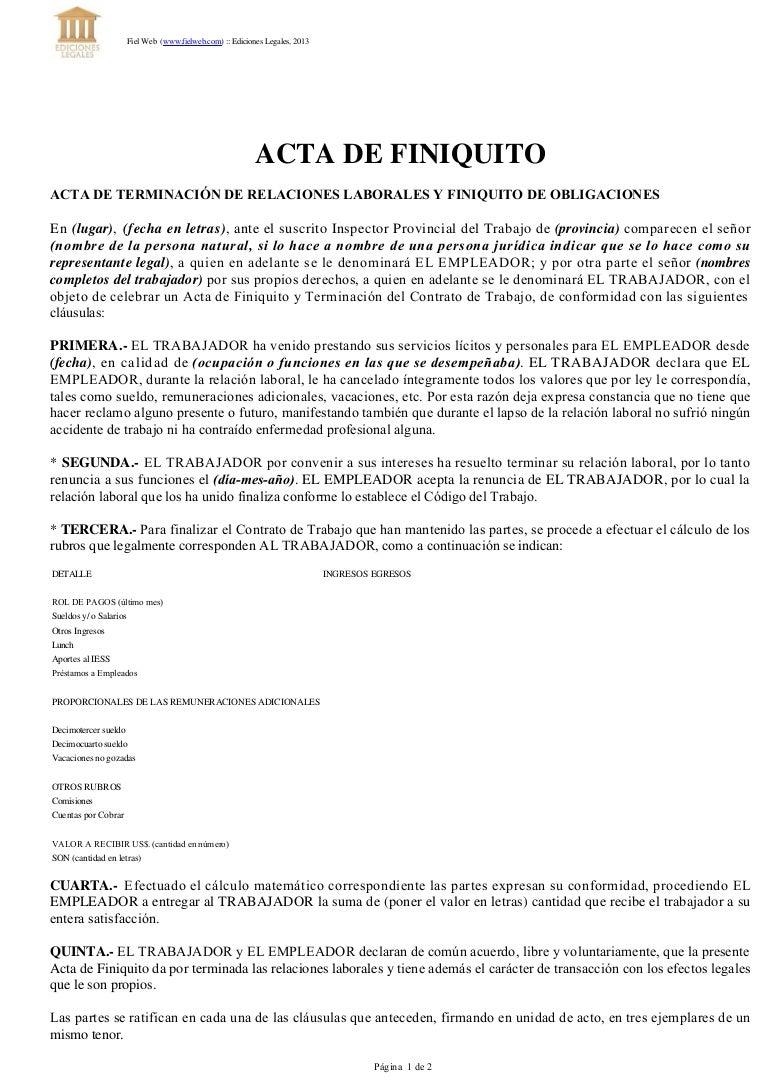 Carta de renuncia de trabajo mexico