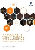 Actionable Intelligence: Transforming Utilities
