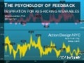 The psychology of feedback - Inspiration for ass-kicking wearables