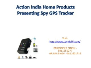 spy gps tracker in Delhi-9811251277