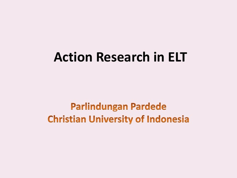 research in elt Researching current topics in elt dr willy a renandya national institute of education singapore   reading theoretical and research papers.