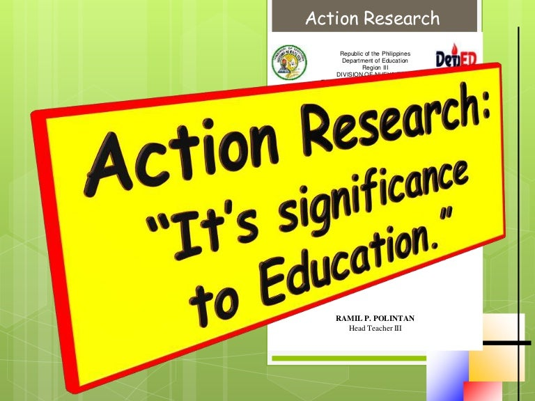 teacher action research papers Using an action research model to bring about school improvement through pe and school sport crichton casbon and lucy walters  • the contribution of action research to school improvement crichton casbon and lucy walters cas04215 3  and ranged from a small, rural, two-teacher primary school to a large secondary school in the city of.