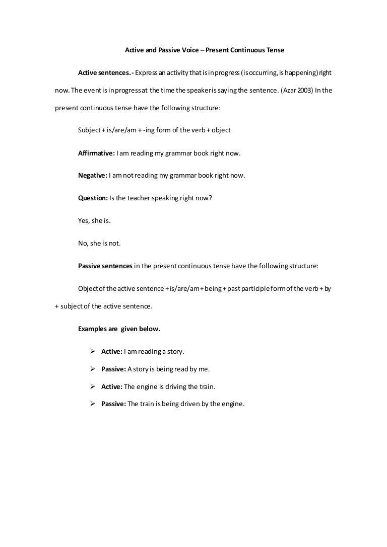 Active and-passive-voice-present-continuous-grammar
