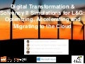 Digital Transformation & Solvency II Simulations for L&G: Optimizing, Accelerating and Migrating to the Cloud, Denis Caromel &  Guido Imperiale, OW2con'17, Paris