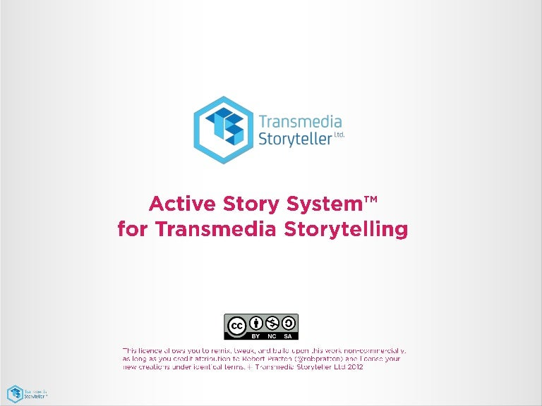 Active Story System - design methodology for transmedia storytelling