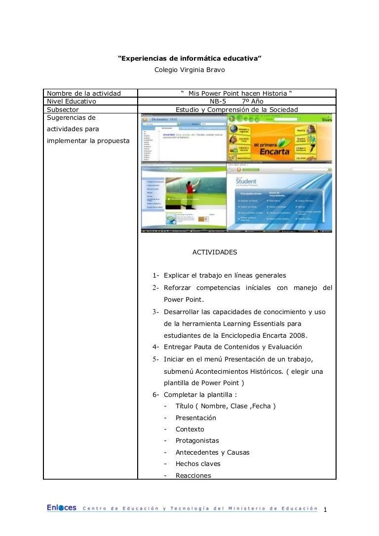 Actividad2 Experiencias De Informatica Educativa 2