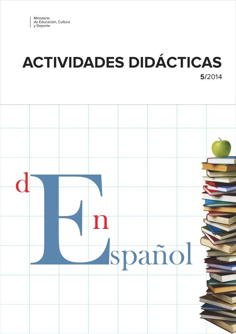 Actividades didácticas de español y en español