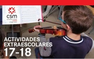 Actividades extraescolares Colegio suizo Madrid 17-18