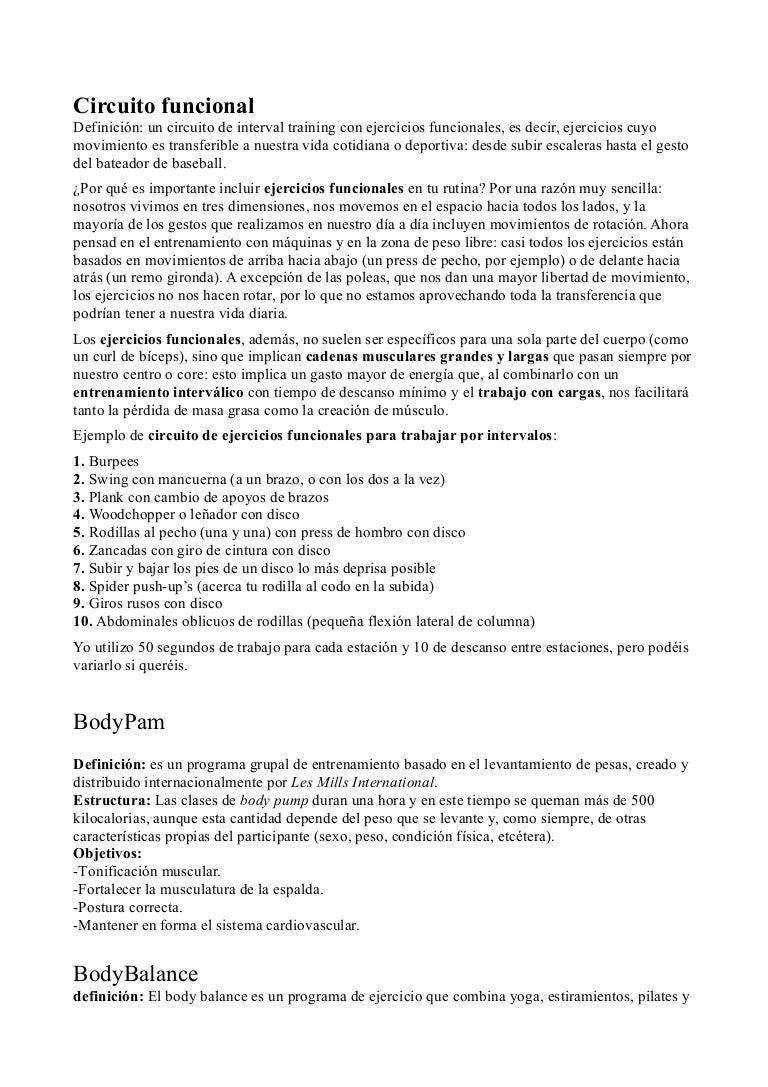 Actividades físicas (Javier Ramos, Jose Artacho, Pedro Díaz, Daniel M…
