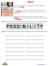 The Art of Possibility - Activity 1