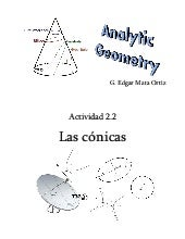 Activity 2 2 the conics