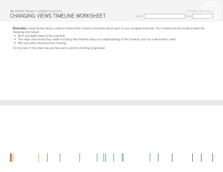 lesson 2 0 activity changing views timeline