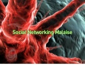 Activity Streams & the social networking malaise