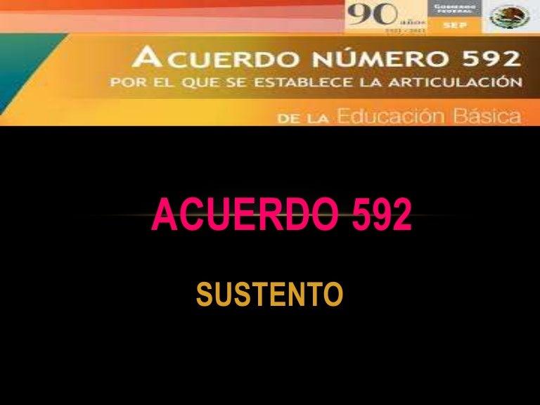 ACUERDO 592 SEP PDF