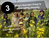 3 Ways Acumen Fund is eliminating poverty - and how you can help