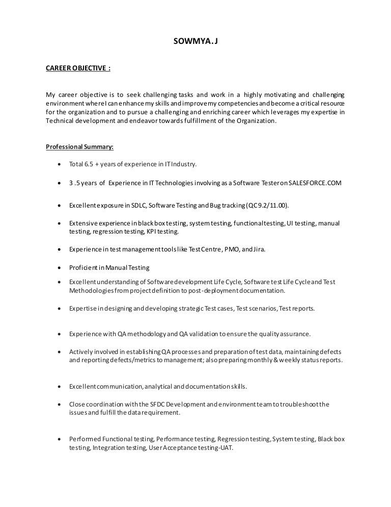 manual testing resume for years experience download manual testing resume test bengineer trendresume resume styles and