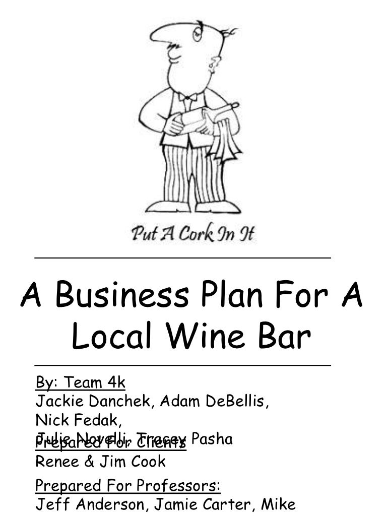 Business plan for wine and beer bar analysis essay ads