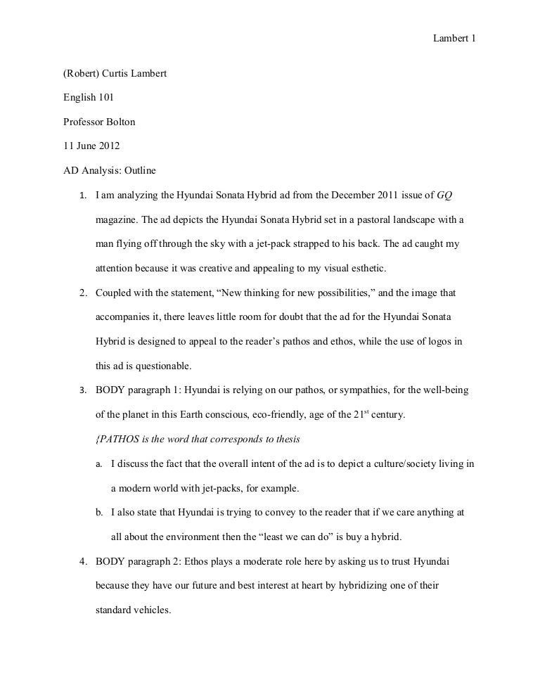 example of text analysis essay