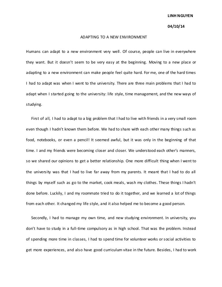 save environment essay 100 words