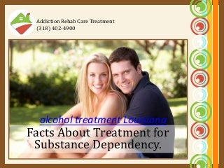 Addiction rehab care treatment - alcohol treatment louisiana