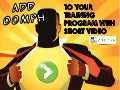 Short Video - Big Results - Add Oomph to Employee Training - Webinar 04.16.14