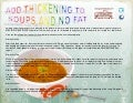 Add thickening to soups and no fat