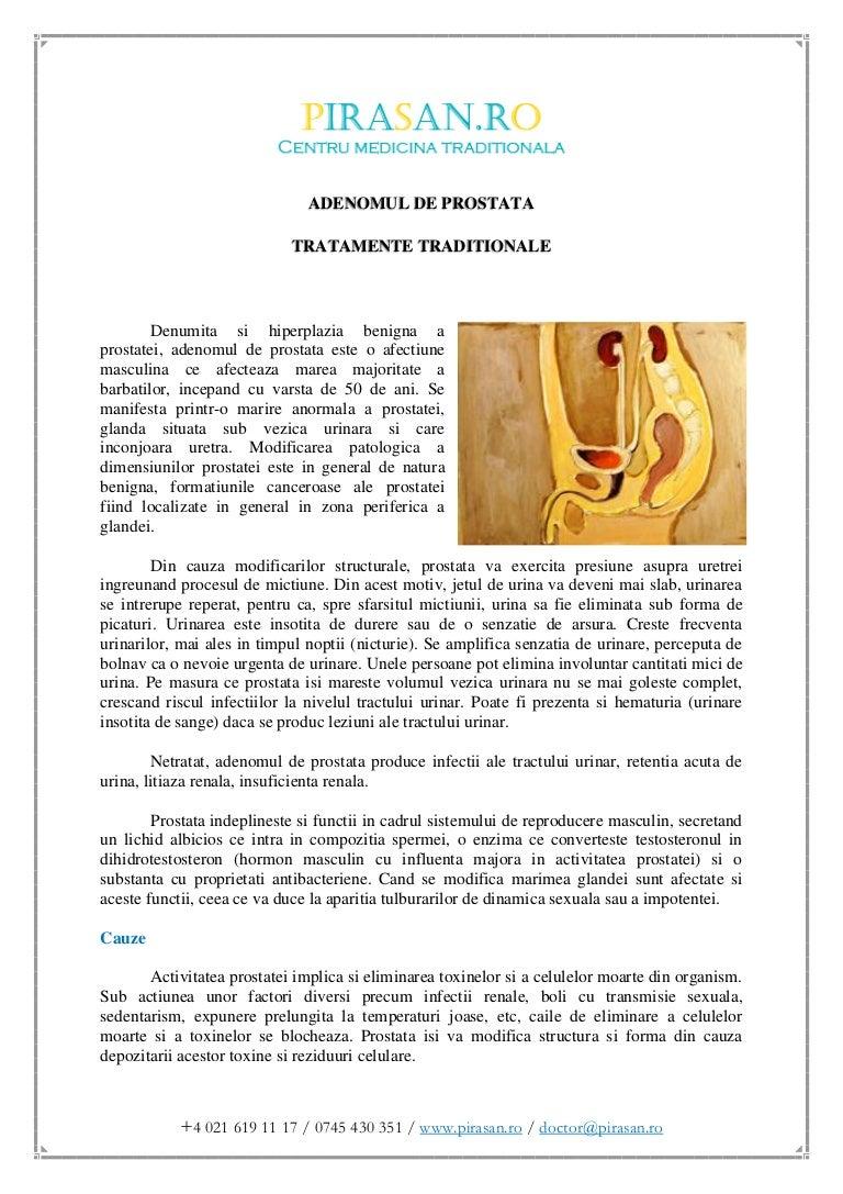 Adenomul de prostata – evolutie, diagnostic, tratament | prostatita.adonisfarm.ro