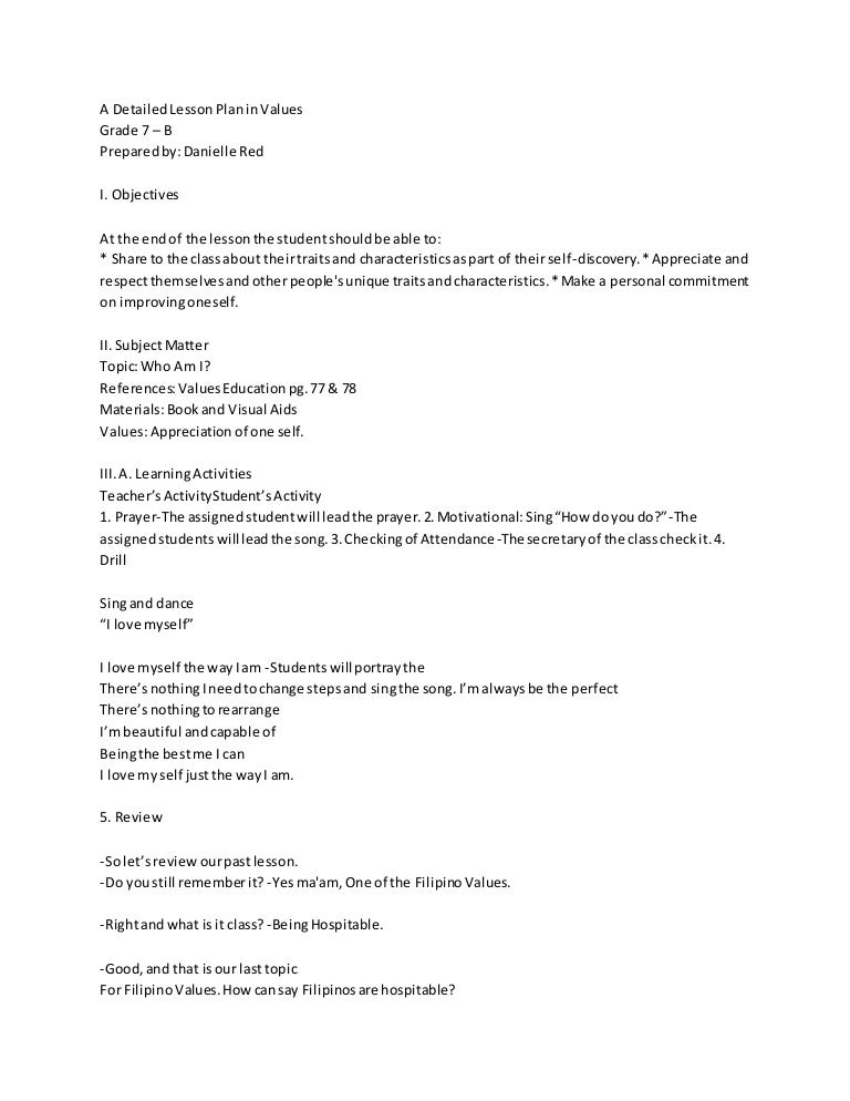 Detailed lesson plan (creative nonfiction) poetry.