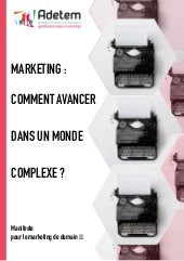 Manifeste pour le marketing de demain