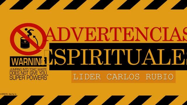 Adevertencias espirituales