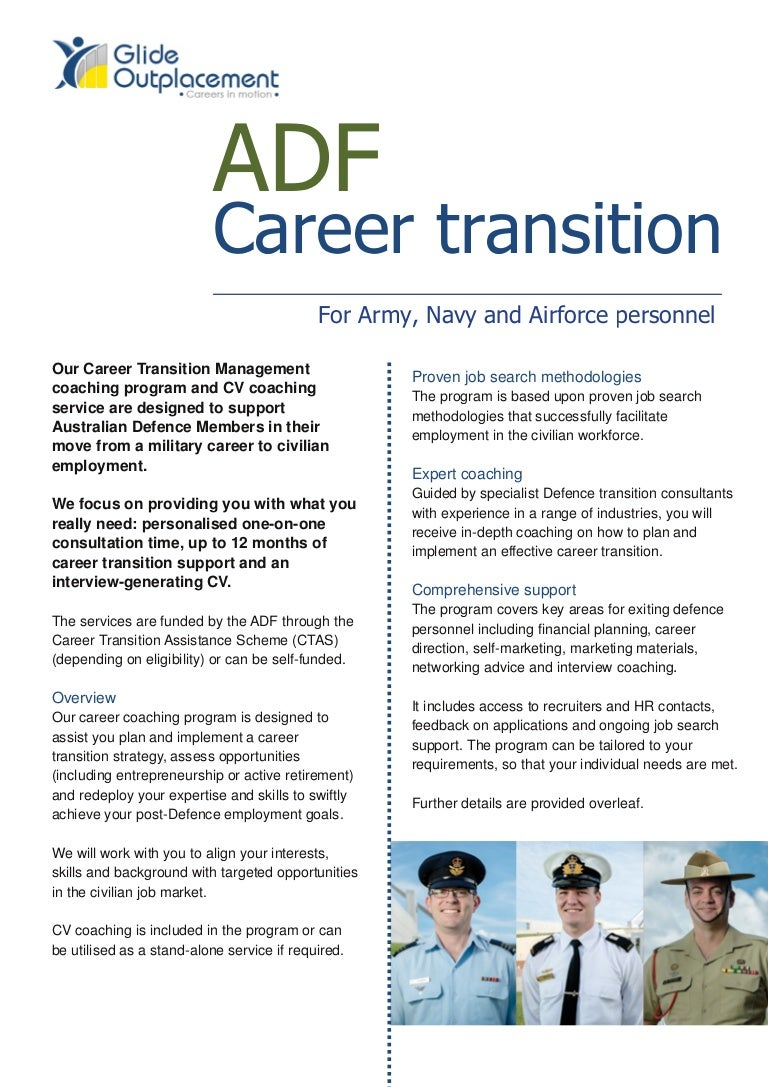 Adf career transition brochure