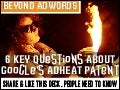 Google's AdHeat Patent: Six Key Questions - Where is the social debate on Google Adheat?