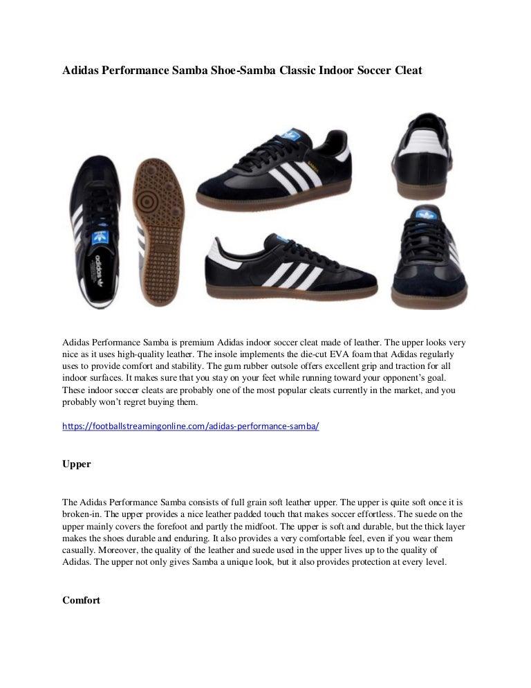 Adidas performance samba shoe samba