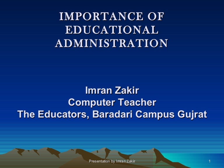 importance of comparative education to teacher trainees