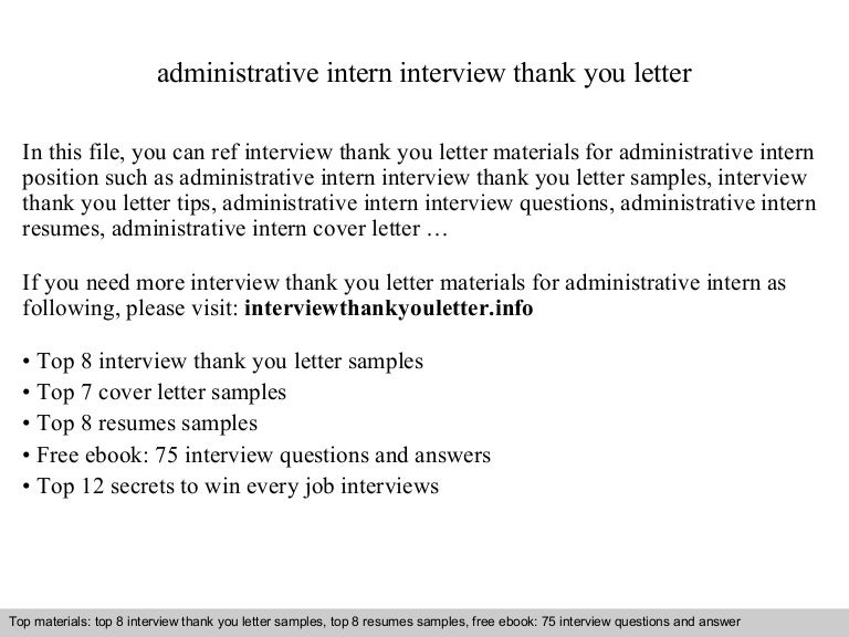 Intern Thank You Letter from cdn.slidesharecdn.com