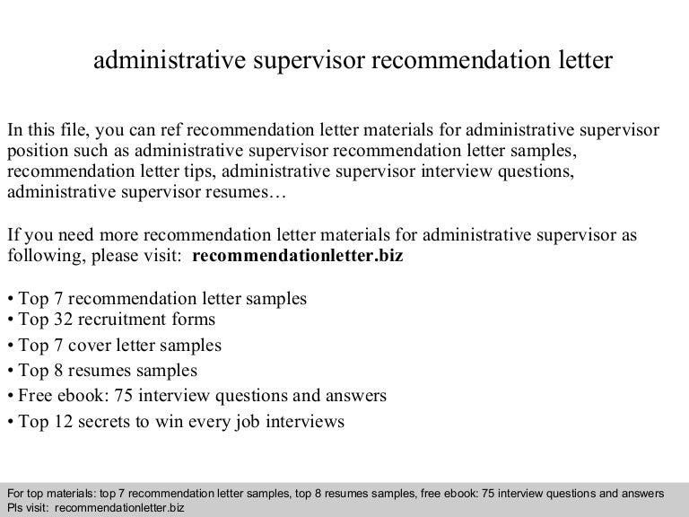 Administrativesupervisorrecommendationletter 140825004754 Phpapp01 Thumbnail 4gcb1408927698