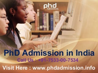 Distance learning phd education