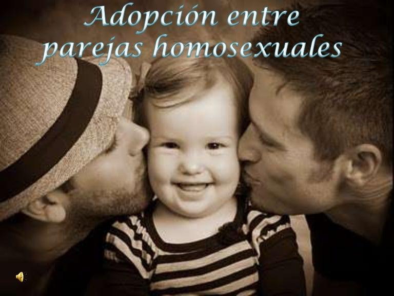 pareja gay adopcion