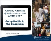 Going Mobile in the Classroom